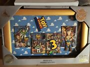 Disney Store Toy Story 25th Anniversary Pin Set Le-1600 New With Box