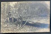 Mint Usa Rppc Real Picture Postcard Native American Indians New York State