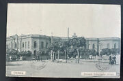 1926 Argentina Rppc Postcard Cover To Naters Switzerland Wwi Italian War Label