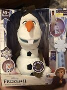 Disney Frozen 2 Follow Me Friend Olaf   Talking, Singing, Moving With Controller