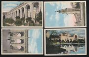 Us 1915 Pan-pacific International Expo Postcards Lot Of 4 Ppie6