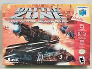 Battlezone Rise Of The Black Dogs Nintendo 64 | N64 Authentic Box Only