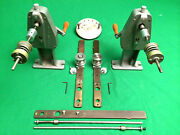 Hand Film Rewind System W/ Tightwinds Core Adapters Spring Clamps Longshafts