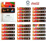 Tokyo 2020 Olympic Cocacola Pins Complete Set Of 25 Japan Limited Rare Novelty