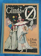 Glinda Of Oz Vintage C.1920 By L.frank Baum Illustrated By Jno R Neill .. Book