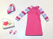 Barbie Vintage Complete 2616 Japanese Exclusive Raspberry Outfit