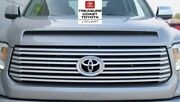 New Oem Toyota Tundra 14-2017 Platinum Silver Sky Grille And Bulge And Emblem 1d6