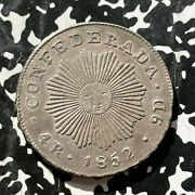 1852 Argentina Cordoba 4 Reales Lotjm2824 Silver Nice Sunface