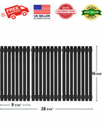 3 Pack 16 13/16 X 9 7/16 Porcelain Steel Grill Grates Replacement For ... New