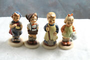 M J Hummel Collector Club Edition Figurines 629, 630,727, 729 No Boxes 4