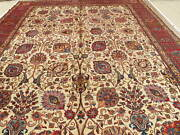 Hand-made 11and0397 X 16and0393 Tab/riz Hand-knotted Area Rug