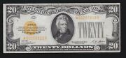 Us 1928 20 Gold Certificate Star Note Fr 2402 Vf 823