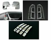 Fits To Renault Trafi 2014up Abs Chrome Rear Lamp Rimandmirrorsanddoor Handle Covers