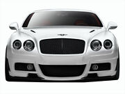Aero Function Gfk Af-1 Front Bumper Body Kit For 03-10 Bentley Continental Gt
