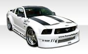Duraflex Circuit Wide Body Body Kit For 05-09 Ford Mustang
