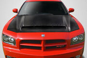 Carbon Creations Demon Look Hood For 06-10 Dodge Charger