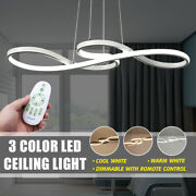 Acrylic Modern Led Ceiling Light Lamp Pendant Dining Home Room Dimmable Fixture