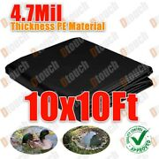 10x10ft Pe Stable Material Economy Pond Liner Membrane For Water Garden Koi Pond