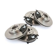Brake Discs Pads Front Rear For Bmw 3er Compact E46 316 Ti 318 320d