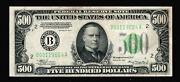 1934 500 Federal Reserve Notes New York