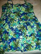 Ladies Womens Miss Size 16 Cup D And Up Swimdress Bathing Suit By It Figures