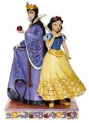 Jim Shore Disney Snow White And Evil Queen Evil And Innocence 6008067