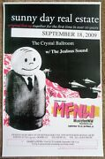 Sunny Day Real Estate 2009 Gig Poster Mfnw Portland Oregon Musicfest Nw