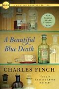 A Beautiful Blue Death The First Charles Lenox Mystery By Charles Finch New