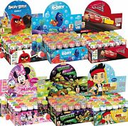 Box Of 36 Or 6 Girls Boys Bubbles Party Bag Supplies Stocking Fillers Toys Games