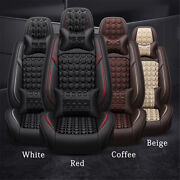 Universal Pu Leather Auto Car Seat Cover Pad Vehicle Chair Cushion Protector Set
