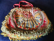 Magnolia Pearl Very Rare Shoulder Bag Of French Aubusson And Antique Textiles