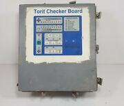 Donaldson Torit Checker Board F/ Downflo Cartridge Dust Collector Sdf-6