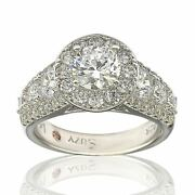 Suzy L. Bridal Sterling Silver White Cubic Zirconia