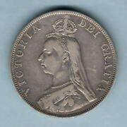 Great Britain. 1889 Double Florin 4/-. Inverted 1 For I In Legend..  Avf