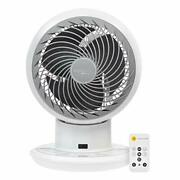 Woozoo Compact Personal Oscillating Circulator Fan With Remote White Pcf-sdc15t