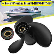 For Mercury/tohatsu/nissan 9.9-20hp 48-897754a11 9.25 X 11 Outboard Propeller