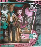 Monster High Draculaura And Clawd Forbidden Love Rare And Retired In Box