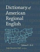 Dictionary Of American Regional English Hardcover By Hall Joan Houston Edt...