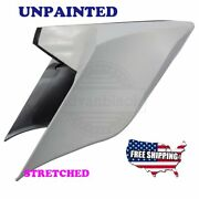 Us Stock Unpainted Stretched Extended Side Cover For 09-2013 Harley Touring