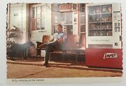 Billy Carter Relaxing At His Gas Station Post Card Unposted