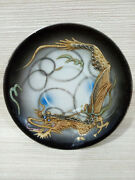 Antiques Antique Chinese Dragon Dishes Rare Carving Amazing Looking