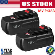 18v 18-volt Nicd Replacement Battery Pack For Porter Cable Pc18b Cordless Tools