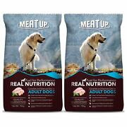 Meat Up Adult Dog Food 10 Kg Buy 1 Get 1 Free Free And Fast Shipping