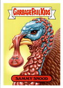 2017 Garbage Pail Kids Wacky Packages Thanksgiving 15 Sticker Set Limited To 188