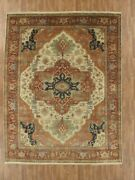Hand-made 9'2 X 11'10 Indo Serapi | Antique Collection Hand-knotted Wool 9x...