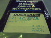 Vintage New Old Stock Quicksilver Mercury Outboard Diaphragm Kit 21-42990