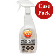 303 Mold Andamp Mildew Cleaner Andamp Blocker With Trigger Sprayer - 32oz Case Of