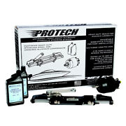 Uflex Protech 3 Front Mount Outboard Hydraulic System - No Hoses Included