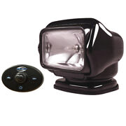 Golight Stryker Searchlight 12v W/wired Dash Control And 20and039 Wire Harness - Black