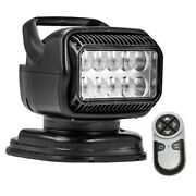 Golight Radioray Gt Series Portable Mount - Black Led - Handheld Remote Magnetic